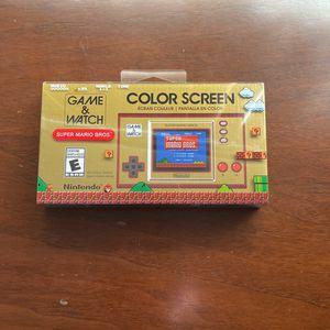 Super Mario Bros GAME & Watch for Sale in Garden Grove, CA