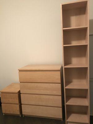 Furniture Set - Minimalist Night stand, Drawer, Bookshelf for Sale in Washington, DC