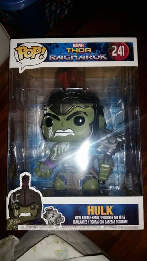 Funko Pop! Marvel Thor Ragnarok Hulk 10 Inch Target Exclusive Collectible Toy Action Figure for Sale in Gardena, CA