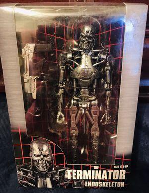 "Terminator Endoskeleton 7"" Scale Action Figure, Gray for Sale in Santa Fe, NM"