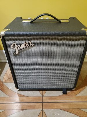 Bass amp and guitar like new for Sale in Houston, TX