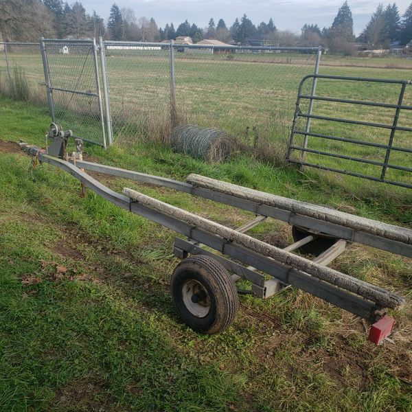 14 Foot Galvinized Boat Trailer