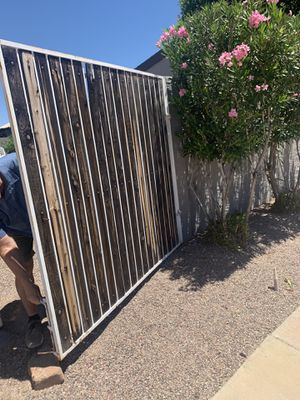 """Rv gate 154"""" Rv gate in good condition and 48"""" gate for Sale in Phoenix, AZ"""