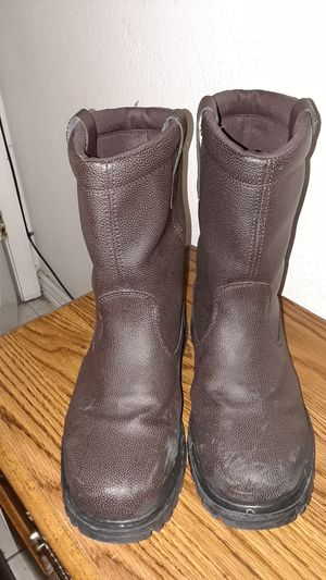 Working boots 10 1/2 for Sale in Modesto, CA