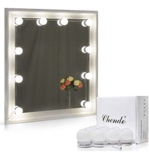 Chende Hollywood Style LED Vanity Mirror Lights Kit with Dimmable Light Bulbs for Sale in Torrance, CA