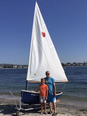 1990 Fattyknee Sailboat/Rowboat/Motorboat for Sale in Anaheim, CA