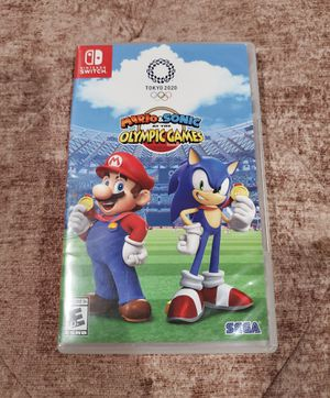 Mario&Sonic at the Olympic Games Tokyo 2020 ( Nintendo switch) for Sale in UNIVERSITY PA, MD