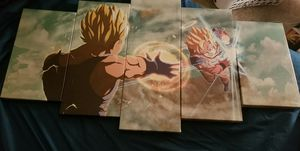 Dragon Ball Z 5 piece panel set for Sale in Hudson, FL