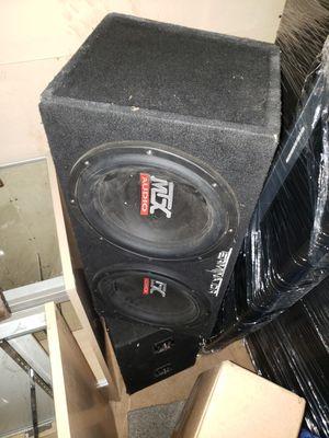 Mtx Terminators Subwoofers 12 inch for Sale in Detroit, MI