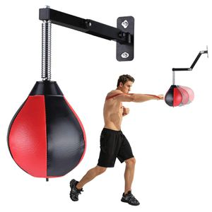 Speed Bag Boxing Punching Bag Wall-Mounted Strong Durable Boxing Ball Speed Punching Bag with Stand for Men Women Kids for Sale in Louisville, KY