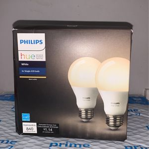 Philips Hue 2x Single A19 Bulb for Sale in Manassas, VA