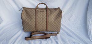 Gucci weekend/travel duffel bag for Sale in Seattle, WA