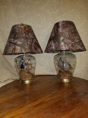 Set of Quail Lamps for Sale in Louisiana, MO