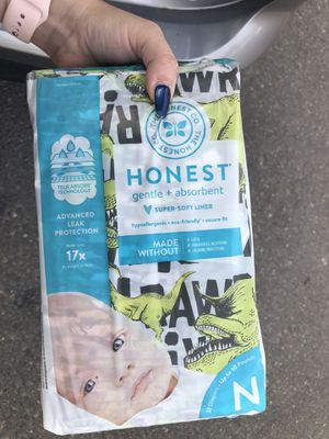 Honest Diapers Size NB for Sale in Sacramento, CA