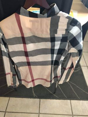 Burberry Flannel Shirt for Sale in Perris, CA