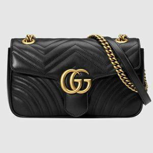 Gucci Marmont Purse(Black) for Sale in Stone Mountain, GA