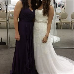 David's Bridal Wedding Dress Sz 6 for Sale in Salt Lake City, UT