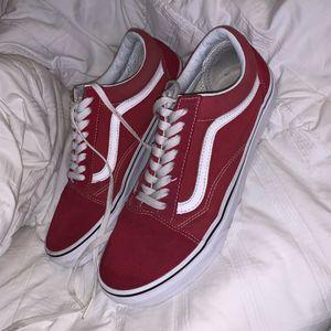 Red vans size 9.5 for Sale in Phoenix, AZ