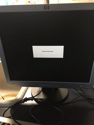 HP Compaq Computer and Monitor for Sale in Winter Haven, FL