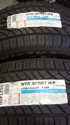 2 HTR Tires for Sale in Las Vegas, NV