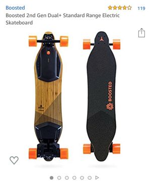 Boosted Board 2nd gen dual+ motor for Sale in San Jose, CA