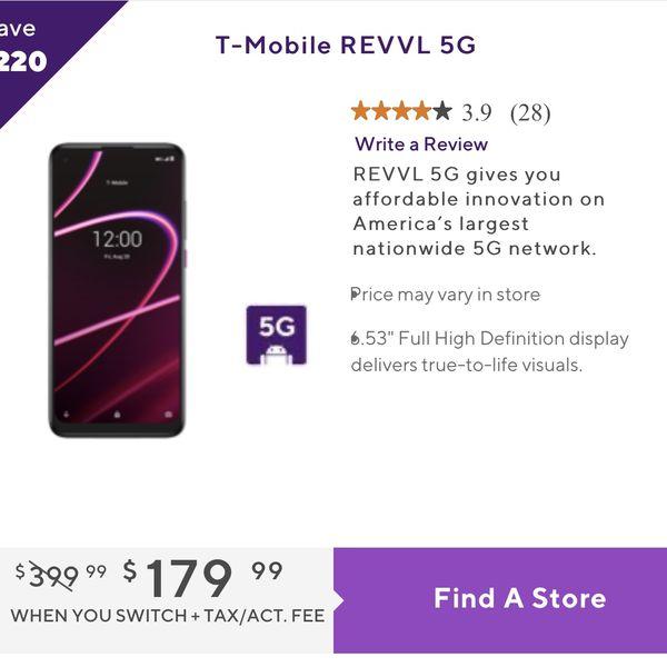 REVVL 5G