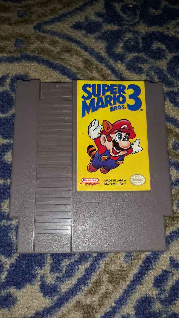 Super Mario 3 Nes $30