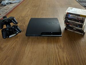 PS3 with games for Sale in Malden, MA