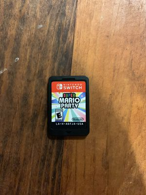 Mario Party Nintendo Switch for Sale in WA, US