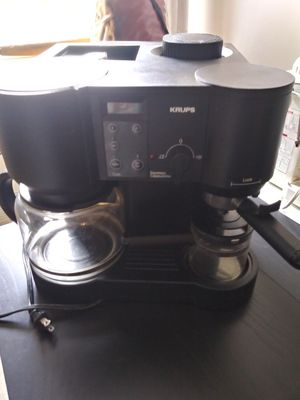 Krups coffee maker for Sale in Queens, NY