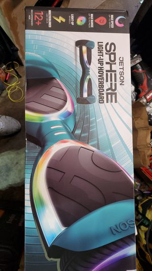 Jetson sphere light up hoverboard for Sale in Vancouver, WA