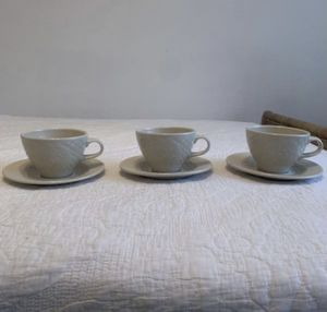Longaberger Collecters Club 3 set Tea cup and saucer for Sale in La Habra, CA