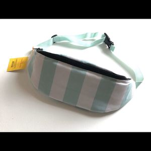 Sun Squad Mint Striped Insulated Cooler Fanny Pack for Sale in Bountiful, UT