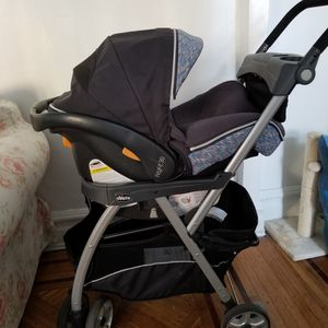 Chicco KetFit Caddy Frame Stroller, Infant Car Seat Base and Car Seat. for Sale in Brooklyn, NY
