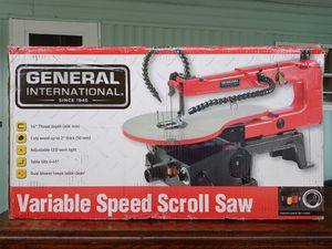 General International variable speed scroll saw new in box for Sale in NO FORT MYERS, FL
