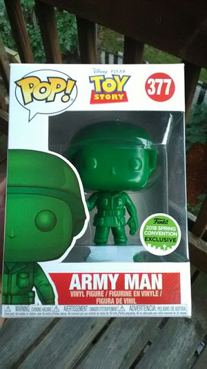 Funko Pop Army Man ( 2018 Spring Convention Exclusive ) for Sale in Boston, MA