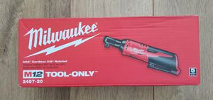 Milwaukee M12 Cordless 3/8 Ratchet Brand New Factory Sealed! for Sale in Elk Grove, CA
