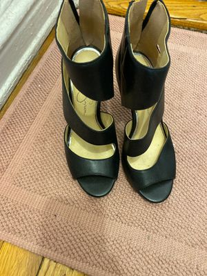 """Jessica Simpson black 5"""" heels , size 35.5/5.5 for Sale in New York, NY"""