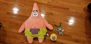 Spongebob plushies for Sale in Spring Valley, NY