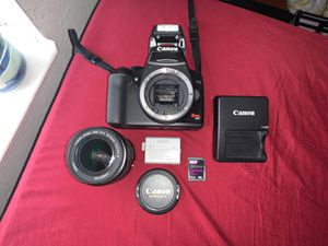 Canon Rebel XS DSLR Camera with EF-S 18-55mm f/3.5-5.6 IS Lens (Black) for Sale in Orlando, FL