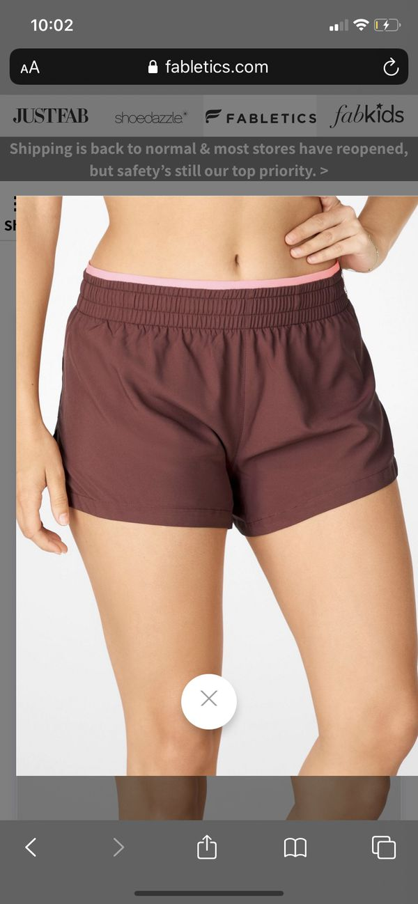 Brand New Fabletics Shorts SIZE S