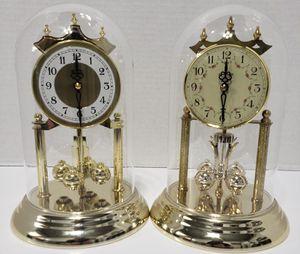 Clocks - glass globes for Sale in Glendale, AZ
