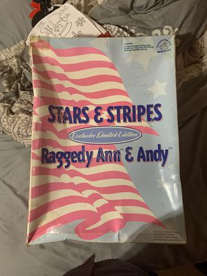 Star and stripes raggedy Ann & Andy doll for Sale in Phoenix, AZ