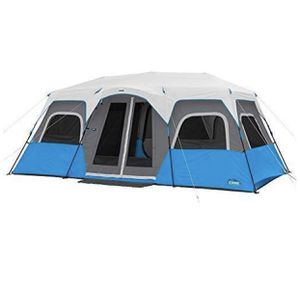CORE Lighted 12 Person Instant Cabin Tent - 18' x 10' for Sale in Covina, CA