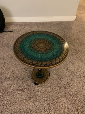 Green side table for Sale in Chevy Chase, MD