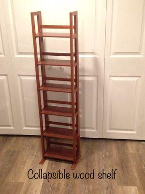 Small foldable wood shelf for Sale in Philadelphia, PA