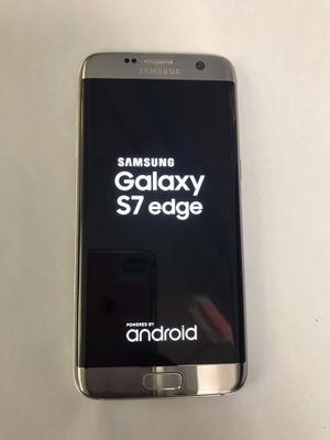Samsung galaxy s7 32gb edge unlocked excellent condition for Sale in Somerville, MA