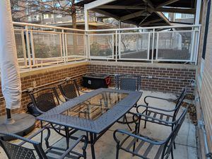 Outdoor Patio Set and Umbrella for Sale in Washington, DC