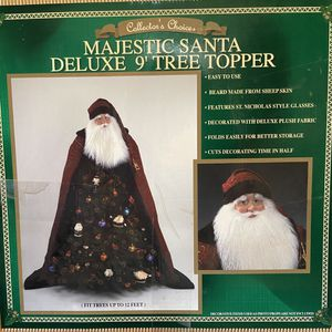 Majestic Santa Deluxe Christmas Tree Topper for Sale in West Jordan, UT