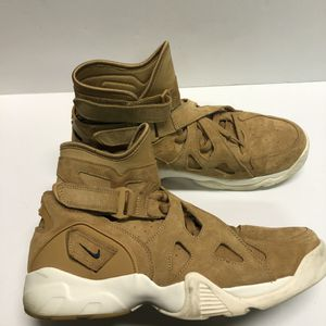 Nike Air Max Unlimited Wheat Flax Suede Trainer 889013-200 Brown Men's Size 11.5 for Sale in Mechanicsburg, PA